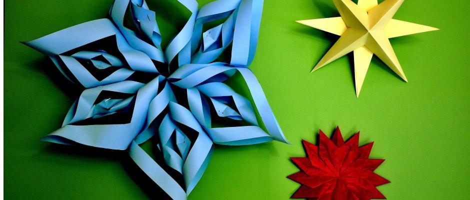 weihnachtssterne schnell und einfach basteln. Black Bedroom Furniture Sets. Home Design Ideas