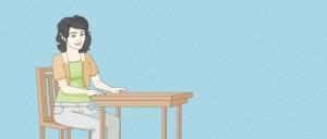 ordnung ist das halbe lernen der schreibtisch. Black Bedroom Furniture Sets. Home Design Ideas