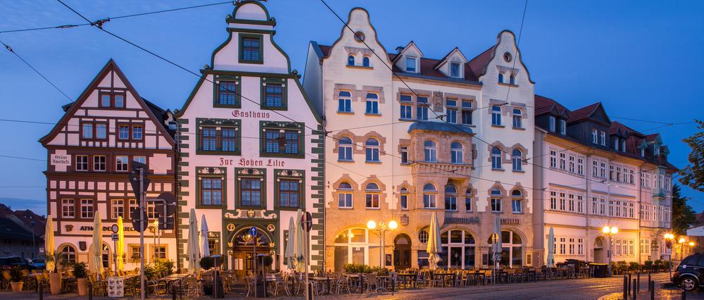 Fachwerkhäuser im Herzen Thüringens