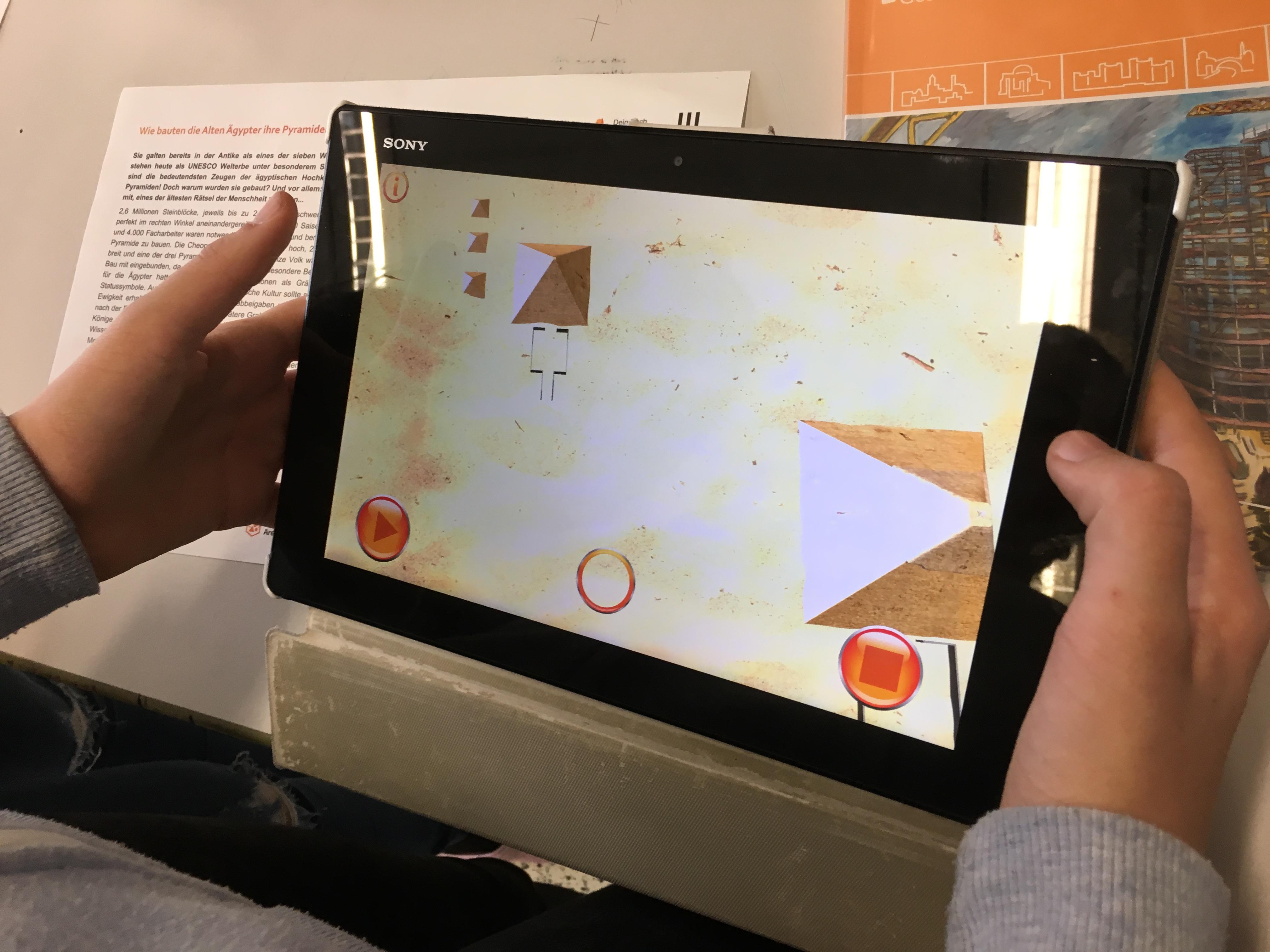 Augmented Reality im Unterricht Geschichte Pyramiden_ 3