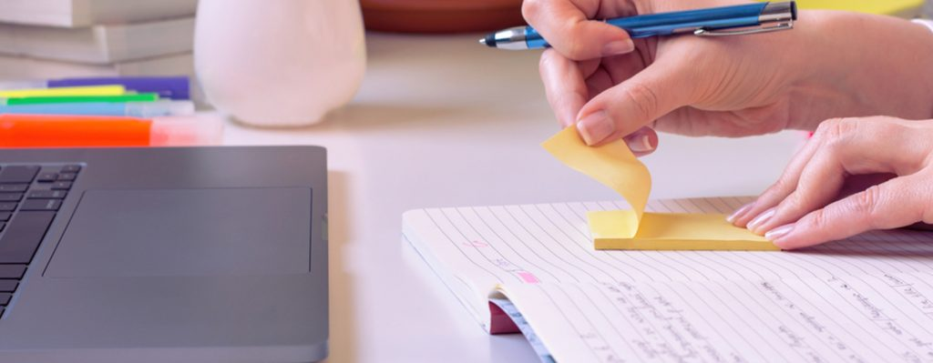 Notizen machen zu Inspiration aus dem Buch Hybrid Unterricht