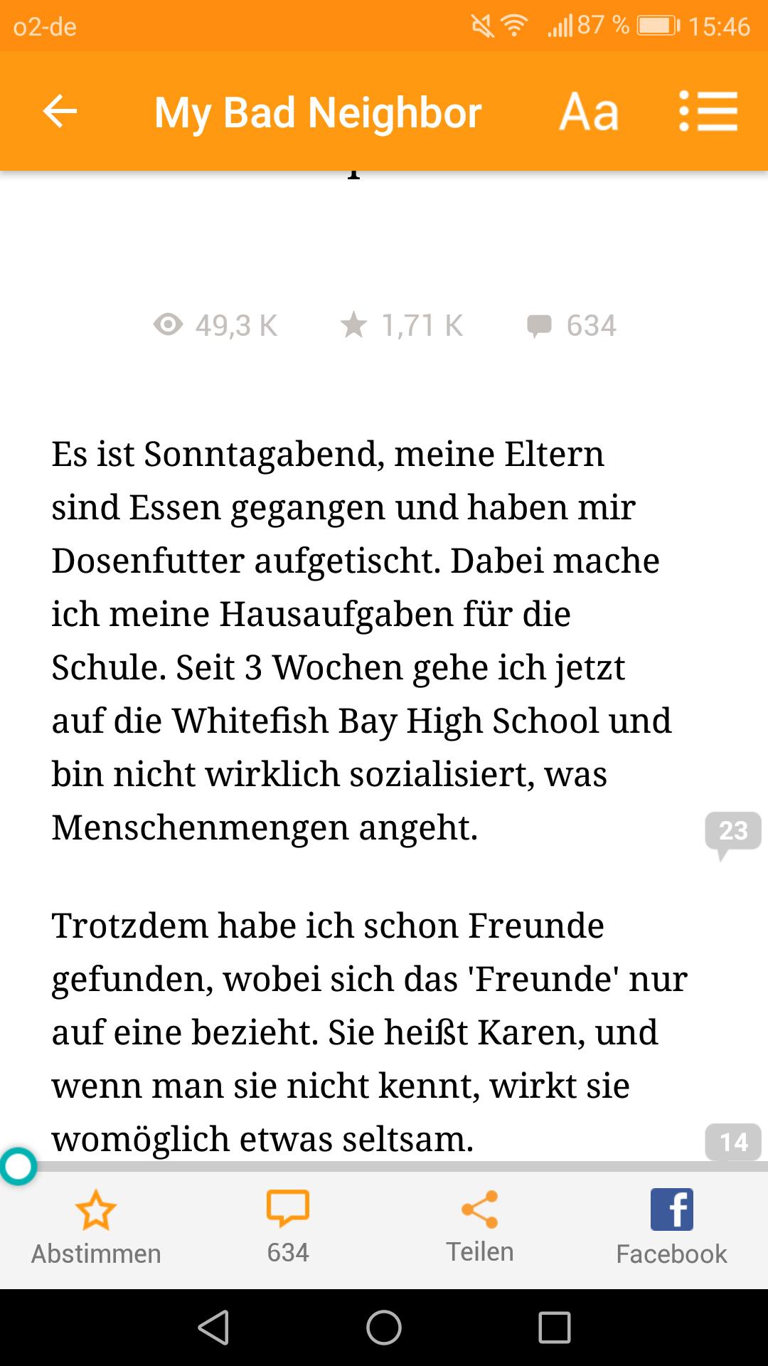 Screenshot_Wattpad_Start (1.9.2017)