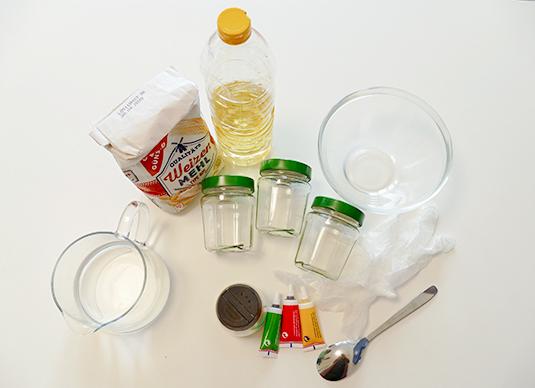 Knete-selbst-machen-Materialien