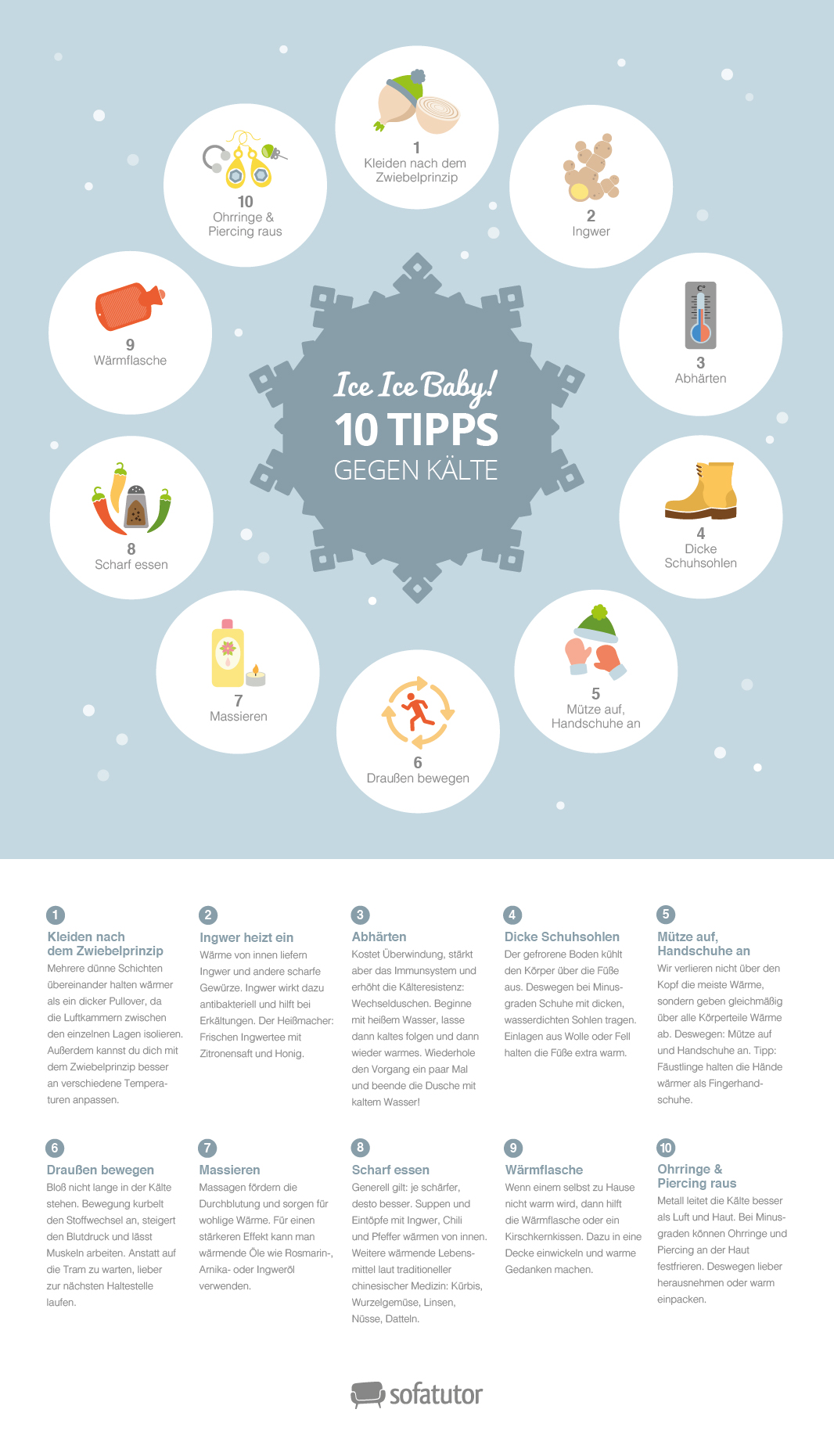 10 tipps gegen k lte. Black Bedroom Furniture Sets. Home Design Ideas