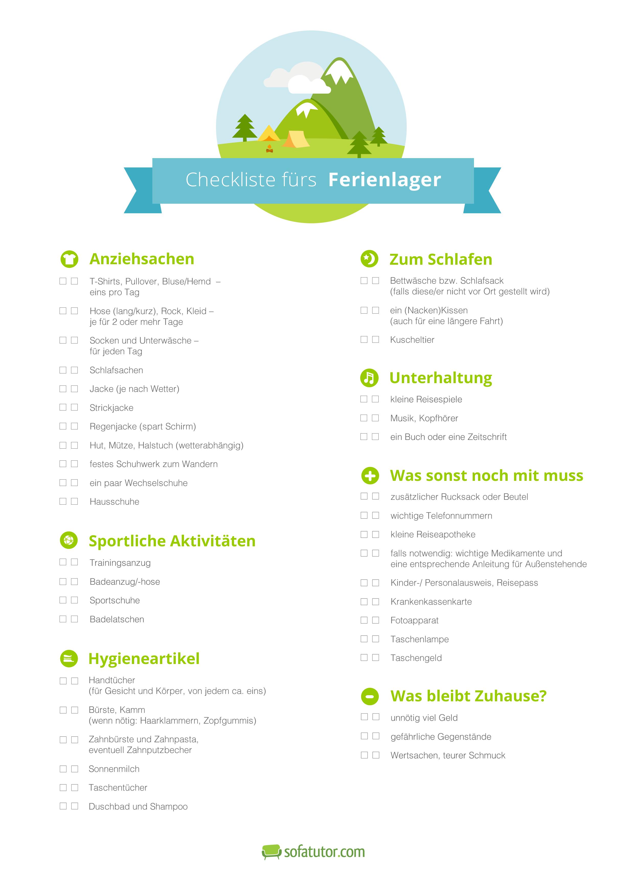 Atemberaubend Sommerlager Zeitplan Vorlage Zeitgenössisch - Entry ...