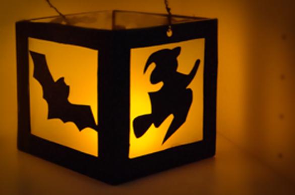 Halloween Gruselige Laterne Basteln