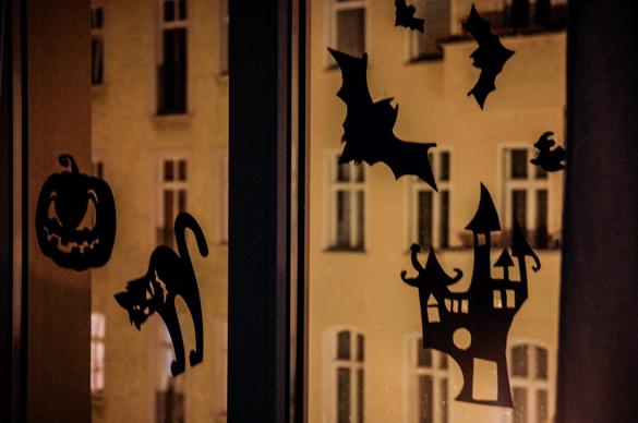 Schaurig Schone Halloween Fensterbilder Zum Selbermachen