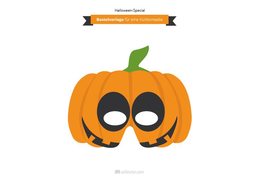 bastelvorlagen halloween masken zum selbermachen. Black Bedroom Furniture Sets. Home Design Ideas