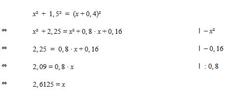Mathe: Satz des Pythagoras – kostenloses Lernposter