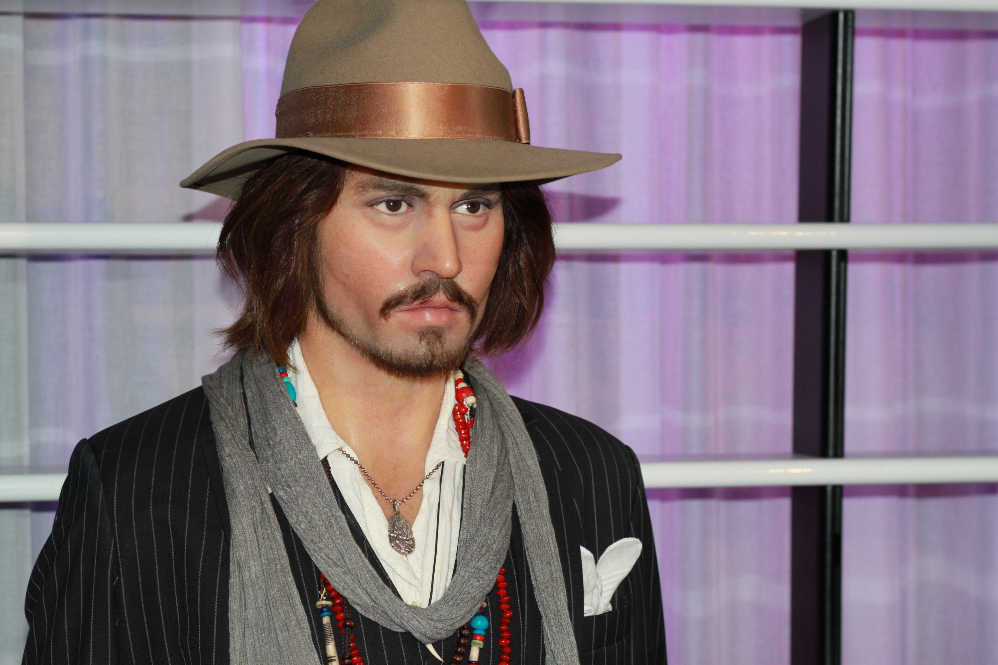 Johnny Depp bei Madame Tussauds Berlin