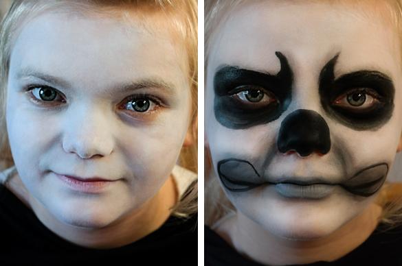Halloween Make Up Schminktipps Vampir Totenkopf Hexe