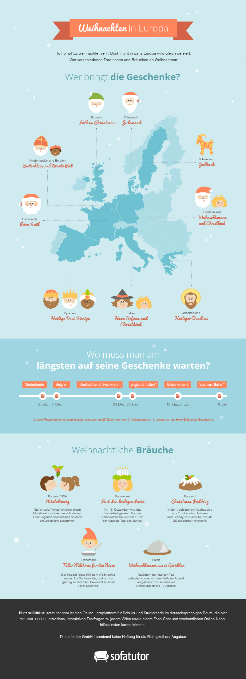 infografik weihnachten in europa. Black Bedroom Furniture Sets. Home Design Ideas