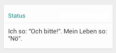 Pimp Deinen Status Witzige Whatsapp Status Sprüche Teil Ii