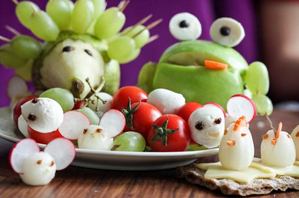 So Machst Du Tiere Aus Obst Und Gemüse