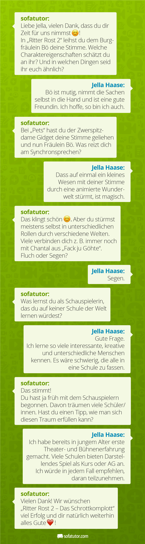 whatsapp interview mit jella haase ber chantals segen und b s mut. Black Bedroom Furniture Sets. Home Design Ideas